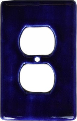 Cobalt Blue Talavera Duplex Outlet Wall Plate Switchplates Accessory