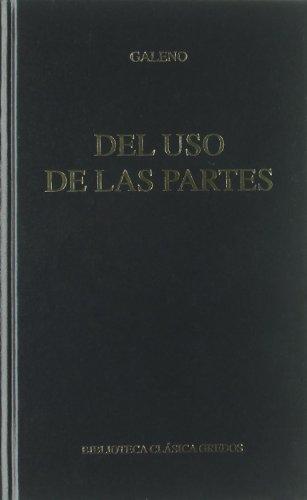 Descargar Libro Del Uso De Las Partes Galeno De Pérgamo