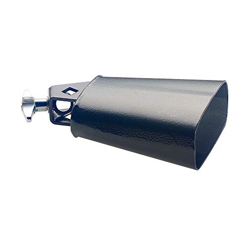 Stagg CB304BK 4.5-Inch Rock Cowbell for Drumset from Stagg