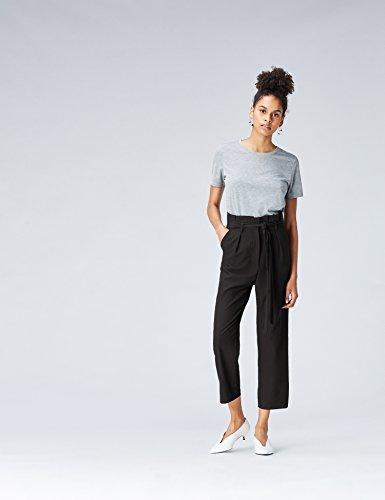 Amazon Brand - find. Women's High Waist Paperbag Pants 15
