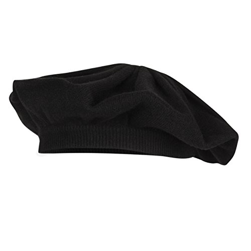 Lomond - Ladies Cashmere Berets (Black)