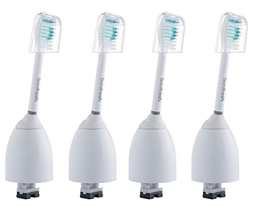 Sonifresh Replacement Heads - Toothbrush Heads For Philips Sonicare E-Series HX7001,4 Pack