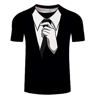 Mujer/Hombre Camiseta de Manga Corta 3D Imprimir Camisetas 3D Tops ...