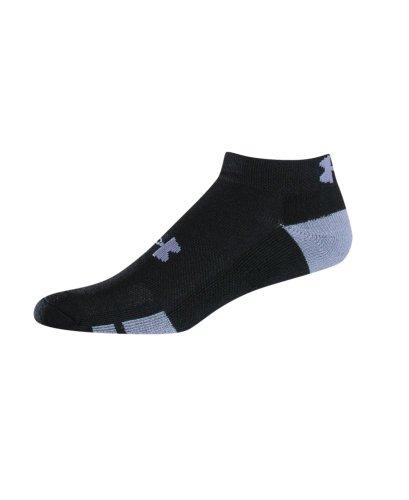 Under Armour Men's Resistor Low-Cut Socks 6-Pack, Black, Med