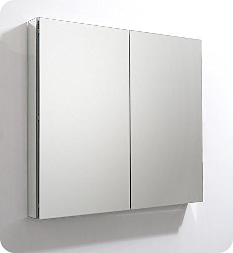 Fresca 40'' Wide x 36'' Tall Bathroom Medicine Cabinet w/ Mirrors by Fresca