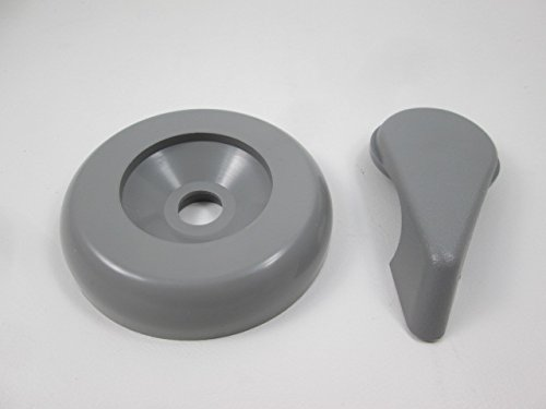 - Spa Hot Tub Diverter Handle & Cap 3 5/8