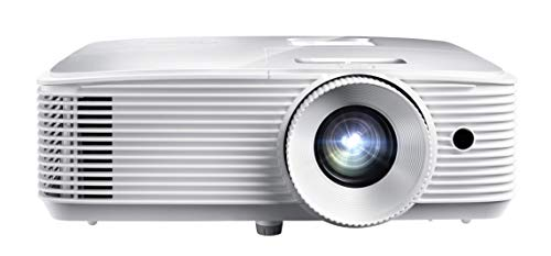 Optoma HD27HDR 1080p 4K HDR Ready Home Theater Projector for Gaming and Movies, 120Hz Support and HDMI 2.0, White