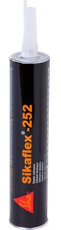 Sikaflex 252 White Multi-Purpose Polyurethane Adhesive - Case of 24 Cartridges