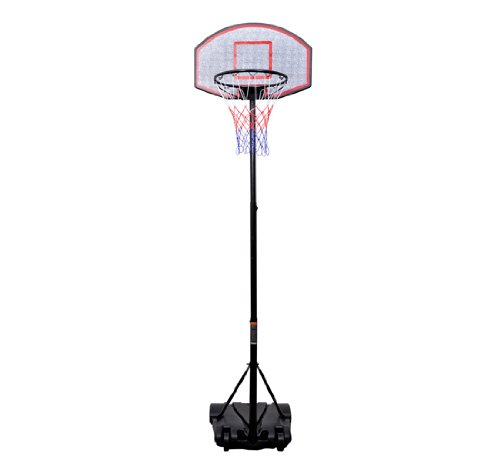 B6-0002 Youth Indoor / Outdoor Adjustable Height Portable Basketball Hoop Set