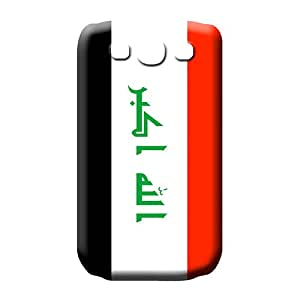 samsung galaxy s3 High Back Pretty phone Cases Covers cell phone carrying cases iraq flag