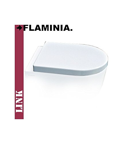 Flaminia 5051 CW02 Seat Wrap for Toilet, Link, Duroplast, White by Flaminia