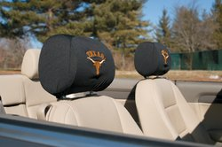 BSI Products, Inc. - Texas Longhorns-Headrest Covers Set Of 2 from BSI Products, Inc.