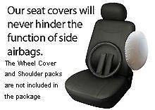 OPT® Brand. Vinyl Leather 4PC SET Kia Front Car Auto Seat Covers, Solid Gray Color. 77153-GY. Free Shipping From New York.