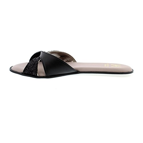 Sandals Ora Glitter Butterfly Butterfly Black Man Twists Twists Made Ora Womens a7nvxd4nwF