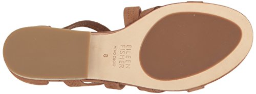 sale 2014 Eileen Fisher Women's EVA-Nu Flat Sandal Cognac free shipping clearance store cheap online store Manchester FMbS1ynx