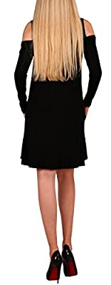 Alaroo Women's Tunic T-shirt Casual Loose Dress with Pockets S-XL