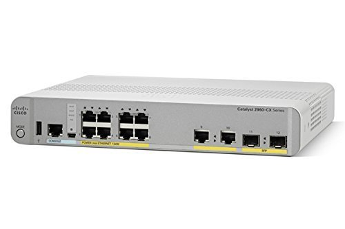 Cisco Catalyst 2960CX-8PC-L - Switch - 8 Ports - Desktop, Rack-mountable (WS-C2960CX-8PC-L)