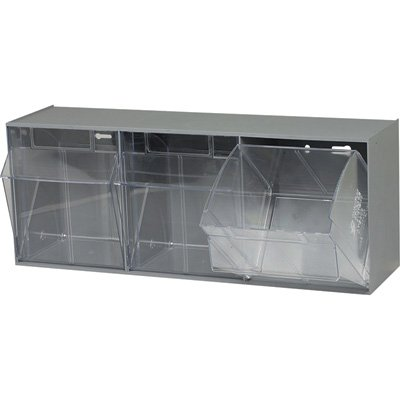 Quantum Storage Tip Out Storage Bin - 7 3/4in. x 23 5/8in. x 9 1/2in. Size, G...