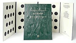 Littleton Blank Coin Folder for U.S. Quarters LCFQ