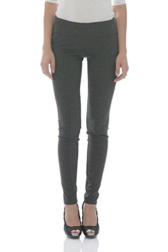 Suko Ponte Knit Leggings for Women Pull on Pants 16832 Charcoal 8