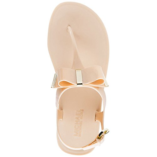 d2f878addf3 Michael Kors Women s Kayden Jelly Thong Sandals 1 Nude Synthetic Slippers -  4.5 UK  Buy Online at Low Prices in India - Amazon.in