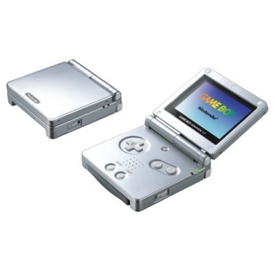 Nintendo Game Boy Advance SP Console- Silver (Renewed)