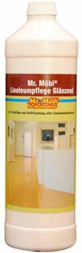 Mr.Möbi© Linoleum Care Glossy, 1 ltr. - First care and freshening of linoleum floors