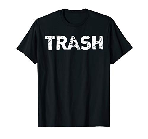 White Trash Funny Halloween T-Shirt -