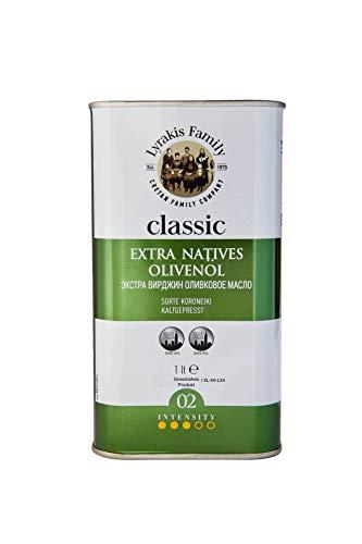 'Lyrakis Family est. 1975'   Olive Oil Extra Virgin Cold Pressed 1l for Cooking   Premium   Greek   Crete   Size Options…