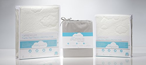 New From Puregrace Playard Mattress Protector And Sheet In