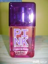 8c8cfbbacff33 Victoria's Secret Pink with a Splash Sweet & Flirty All Over Body Mist 75ml  / 2.5fl oz