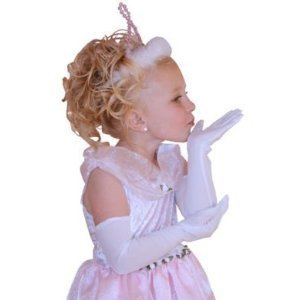 Little Adventures Child White Princess Gloves Ages 3+ -