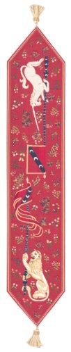 Lion and Unicorn European Table Runner by Charlotte Home Furnishings Inc.