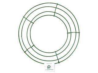 Green Wire Frame - Wire Wreath Frame 10-Green