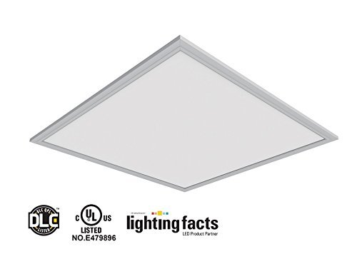 4Pack UL DLC4.2 100lm/W 40W LED Recessed Ceiling 2x2'' Dimmable Commercial LED Panel Light (4000K) (4000k) by WennoW