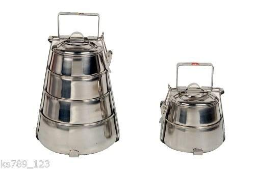 4 Tier Indian-Tiffin Box