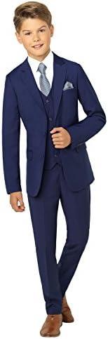 Paisley of London Anzug für Jungen, für Hochzeiten, blau