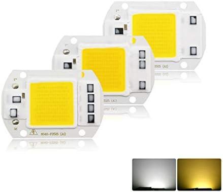 20W 30W 50W LED Floodlight SMD Light Lamp COB Chip Beads Bulb Smart IC Spotlight