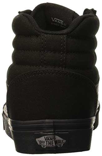 Black Donna 186 Alto black Ward Nero Collo Vans Canvas Sneaker Hi canvas A 710qvZSw