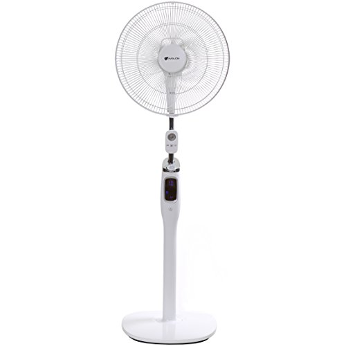 - AVALON High Velocity 16 Inch DC Stand Fan with Super Silent Technology, and Remote