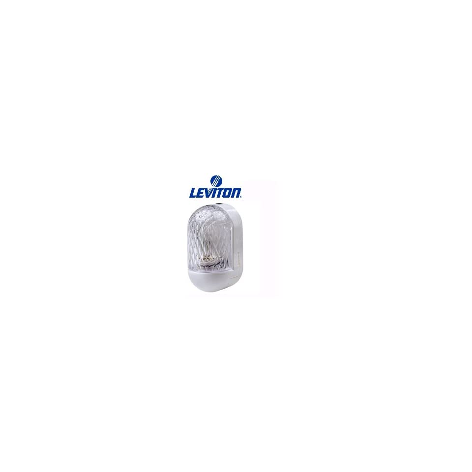 Leviton 51012 LED LED Sound Activated Night Light w/ Crystal Facetted