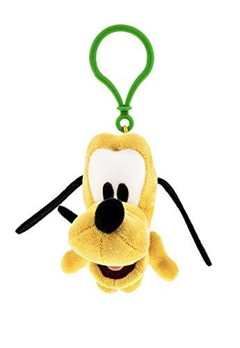 (Theme Park Merchandise Disney Parks Pluto Big Head Plush Purse Hanger Keychain Key Chain)