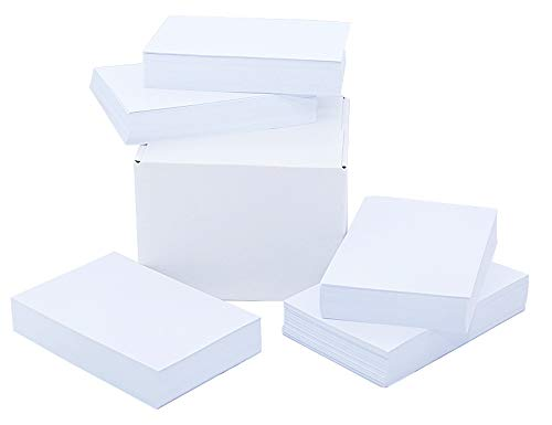 White Cardstock Paper 5