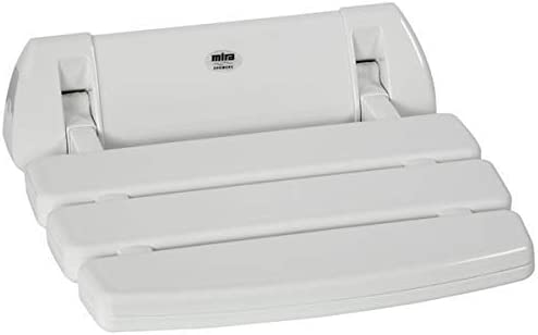 Discount is also underway Mira Showers 2.1536.128 Wall All stores are sold Mounted Seat White Folding Shower