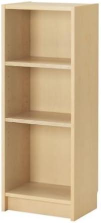 Ikea Billy Birch Veneer Bookcase Birkenfurnier 40x28x106 cm Wood