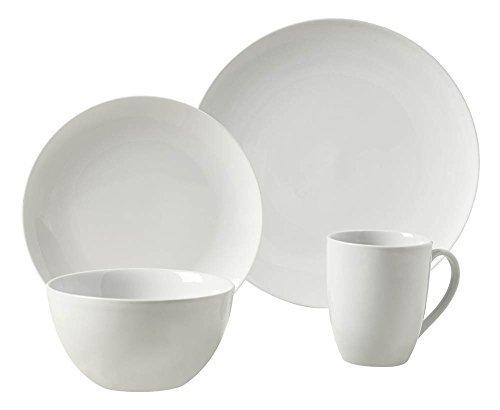 16-Pc Adams Round Dinnerware Set by Tabletops Gallery