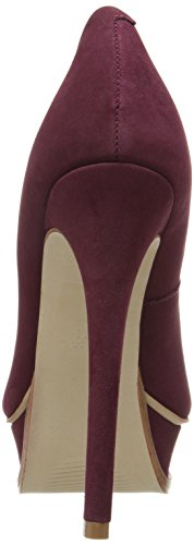 Steve Madden Ladies Pumps Vino Nero Nubuck