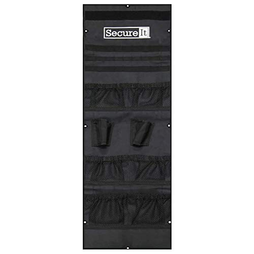 Secure It Gun Storage Agile Ultralight Model 40 Door Organizer - Stores Pistols, Gear, Ammo, and Gun Safe Accessories, Easy Assembly and Gun Storage