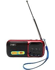 3D World D-201 Portable Digital FM Radio MP3 Player TF Card