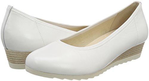 22315 Bianco white Donna Con Scarpe Nappa 102 Tacco Caprice 1pxwqUgg